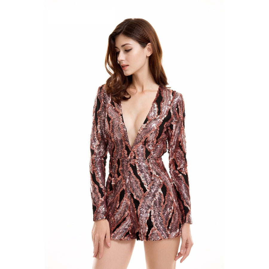 Sequin Playsuit Photo - Plush Boutique