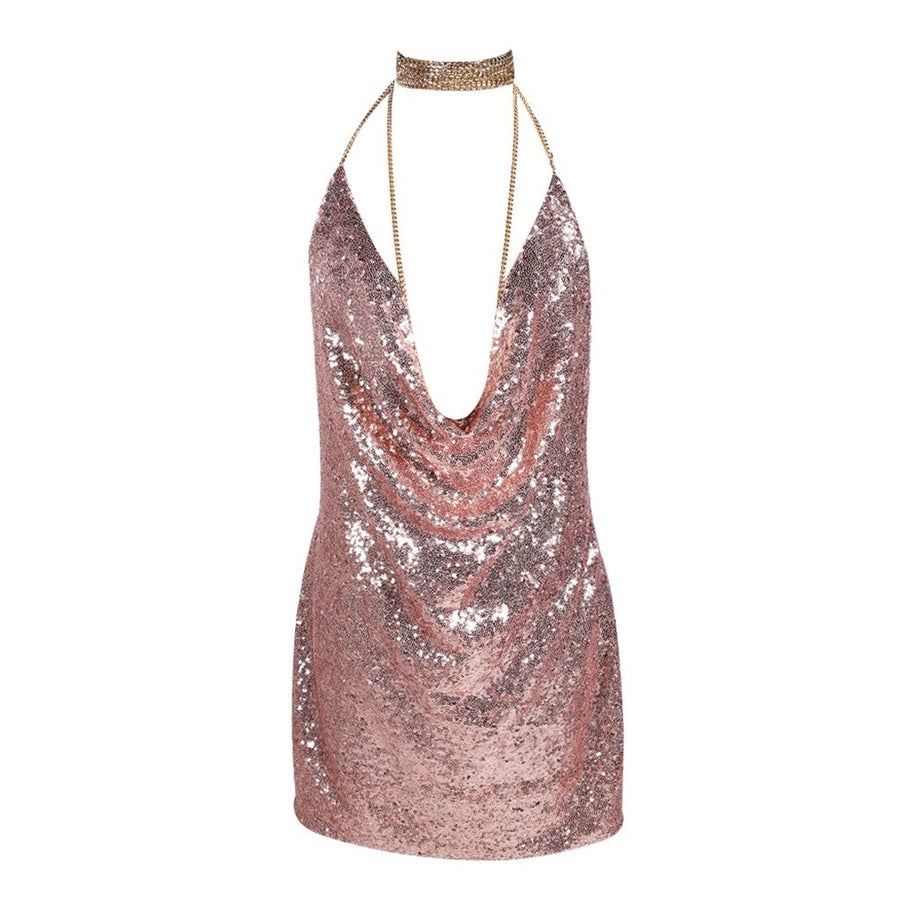 Sexy Sequined Party Dress Photo - Plush Boutique