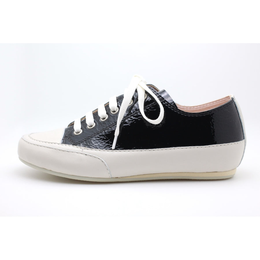 Ivy Leather Sneaker (Black) Photo - Plush Boutique