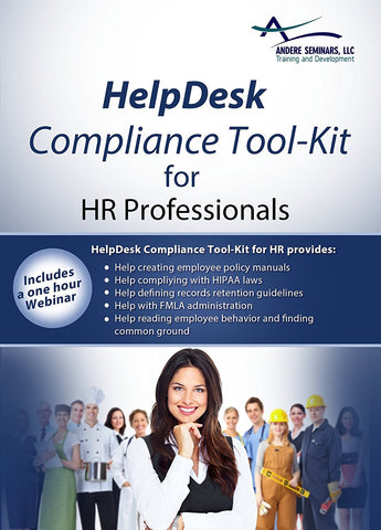 HelpDesk Compliance Tool-Kit for Human Resource Professionals