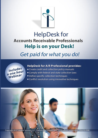 HelpDesk Compliance Tool-Kit for Accounts Receivable Professionals