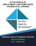 HelpDesk Suite of Compliance Tool-Kits-----------------------  ONLINE ACCESS ONLY - NO DOWNLOAD NECESSARY