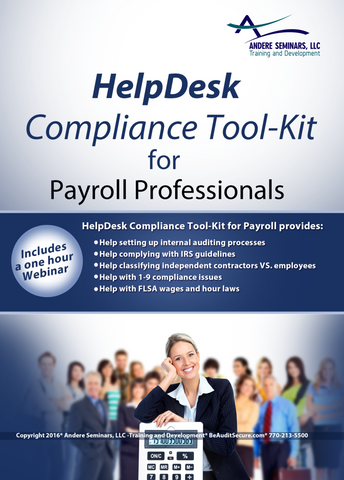 HelpDesk Compliance Tool-Kit for Payroll Professionals