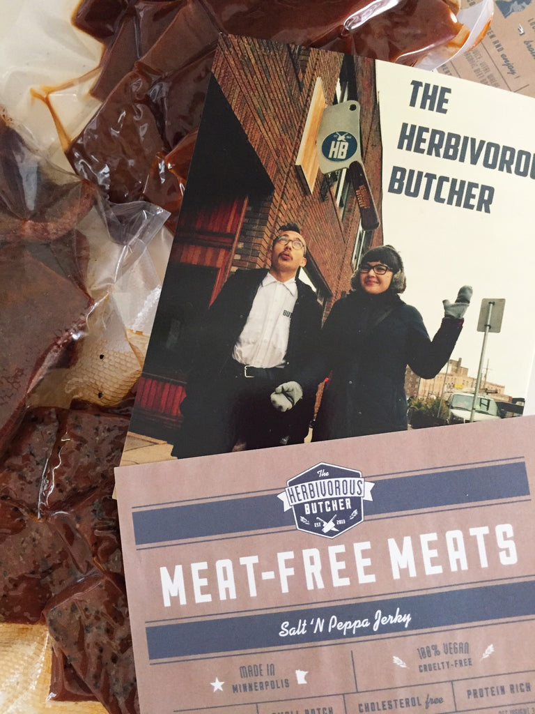 Mover Over Slim Jim, There's a New (Vegan!) Jerky in Town