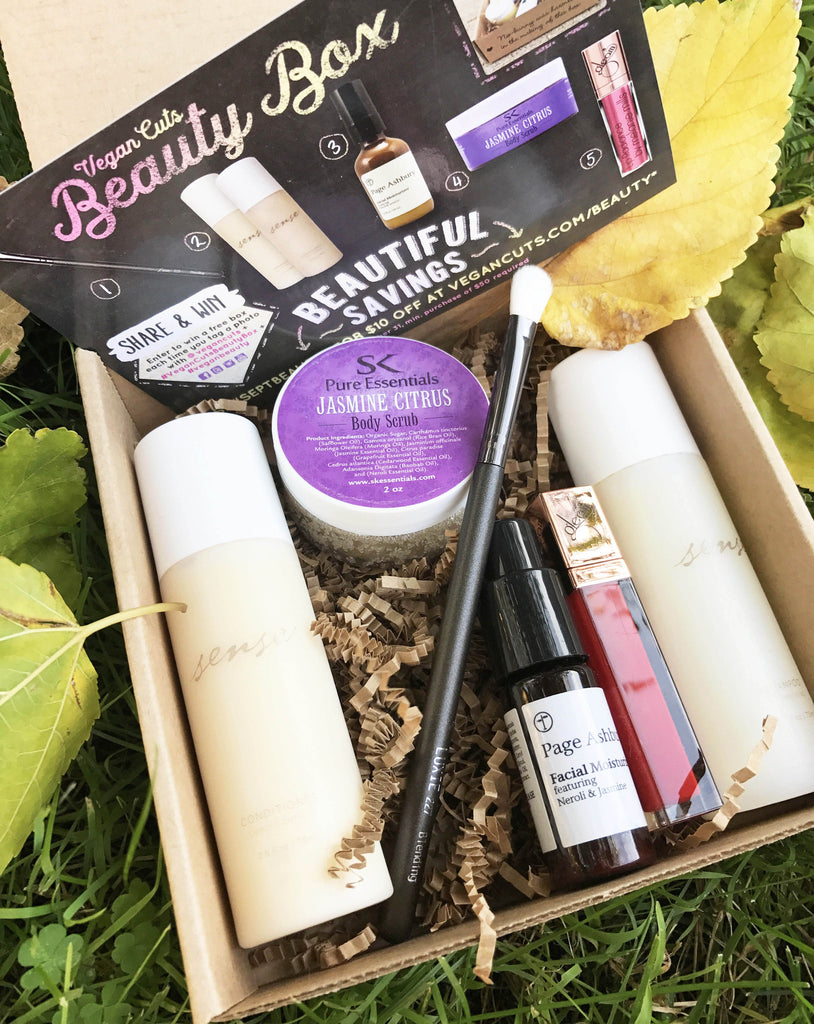 Back to Beauty: Vegan Cuts September Beauty Box Review