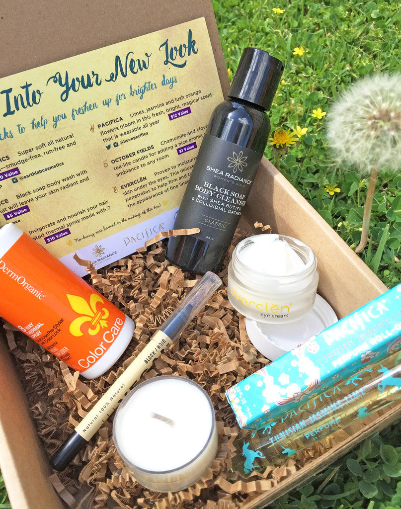 Spring into the March 2016 Vegan Cuts Beauty Box!