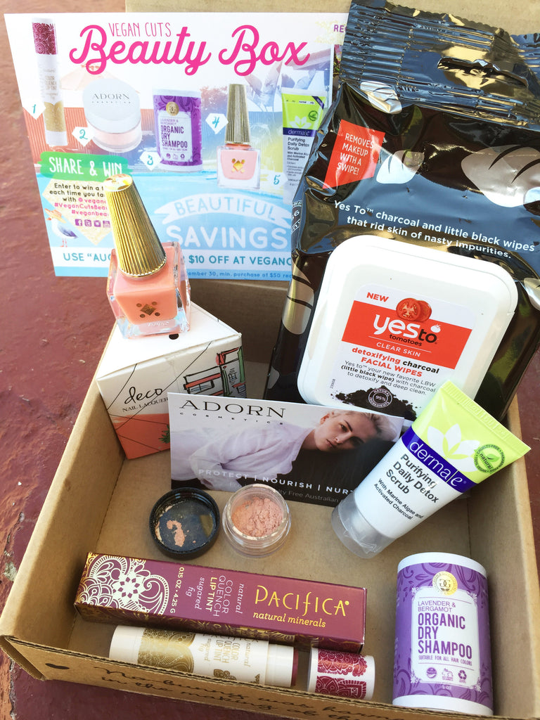 Never Ending Summer: Vegan Cuts August 2016 Beauty Box