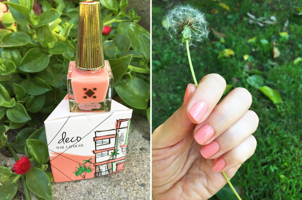 August 2016 Vegan Cuts beauty box deco miami rose all day nail polish