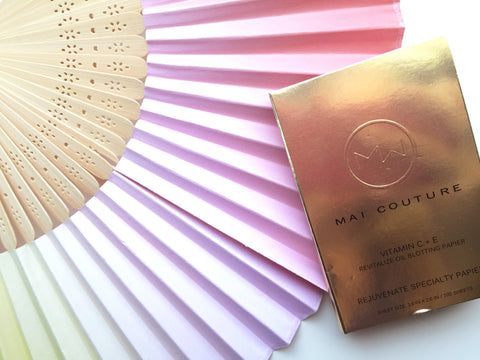 mai couture oil blotting papers