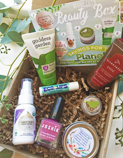 Vegan cuts beauty box cruelty free products