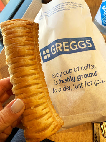 Greggs vegan sausage roll London