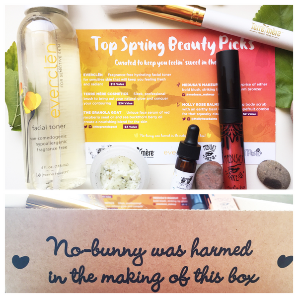 May 2016 Vegan Cuts beauty box