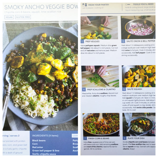 green chef vegan recipe smoky ancho veggie bowl