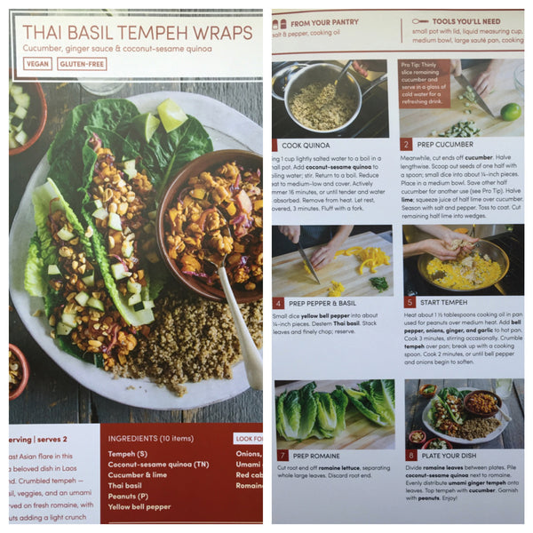 green chef vegan recipe thai basil tempeh wraps