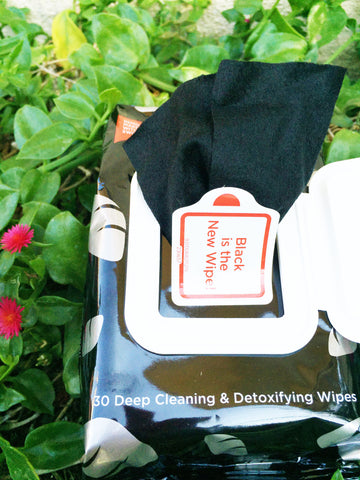 August 2016 Vegan Cuts beauty box yes to charcoal makeup wipes