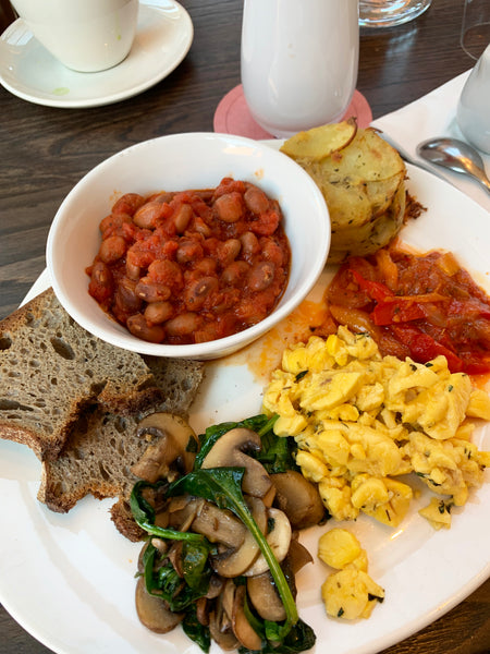 wulf and lamb breakfast vegan london