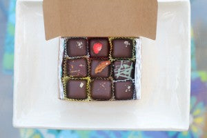Vegan chocolates for a good cause