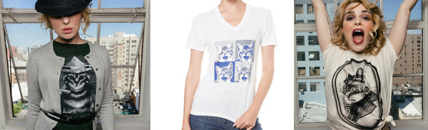 Cute cat shirts for all of your kitty lovers out there