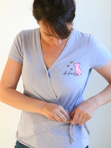 vegan upcycled shirt threads for love