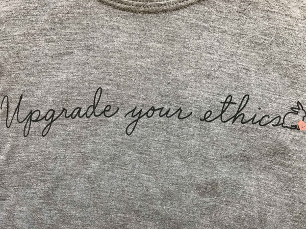 upgrade your ethics vegan eco-friendly tank