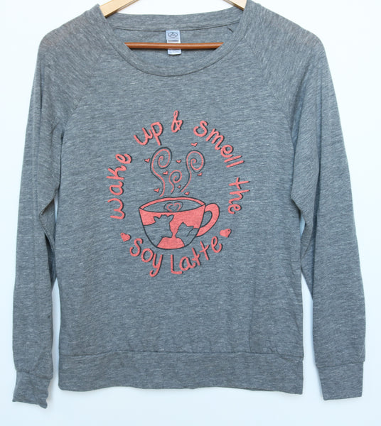 vegan women's eco-friendly  pullover