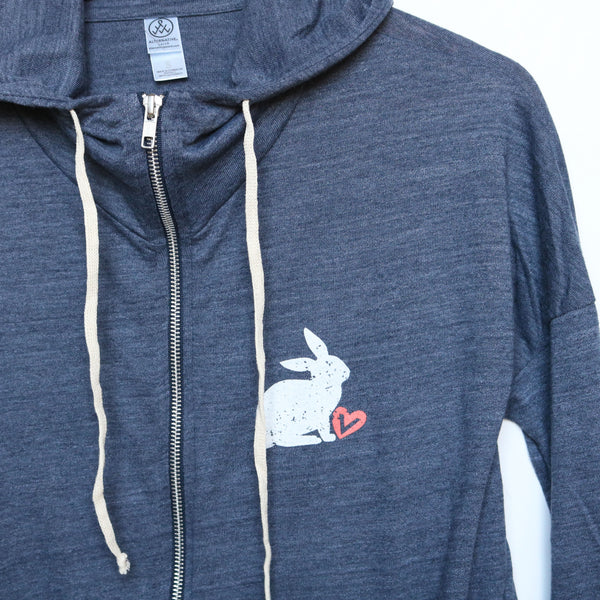 For All Animals Eco-Jersey Hoodie
