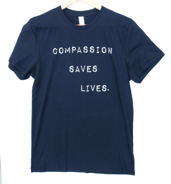 compassion saves lives vegan shirt