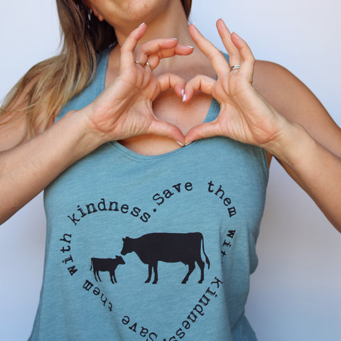 save them with kindness tank