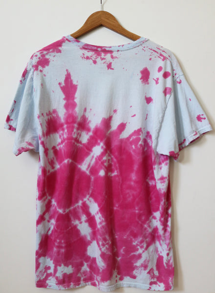 upcycled vegan tie dye shirt threads for love