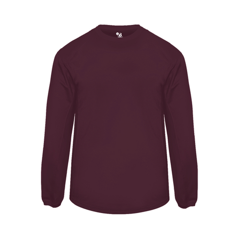 Adult Badger Maroon Pullover 1453