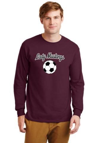 MHS Soccer 2400 Maroon Long sleeve