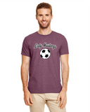 Soccer Maroon Heather 64000 Soft T