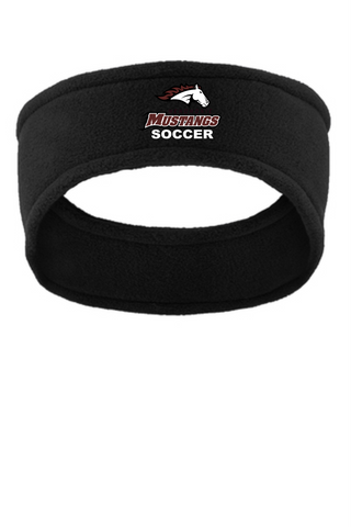 MHS Soccer Black Headband C910