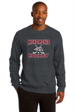 MHS Hockey Adult Graphite Heather Crewneck Sweatshirt ST266