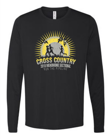 XC Sectional Black Cotton Adult Long Sleeve 2400