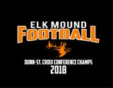 Elk Mound Youth Black Shirt Next Level 3310