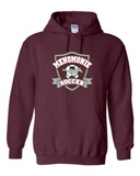 YST254 Youth Sport Tek Maroon Cotton Hood