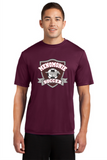 ST350 Adult Maroon Dri Fit T