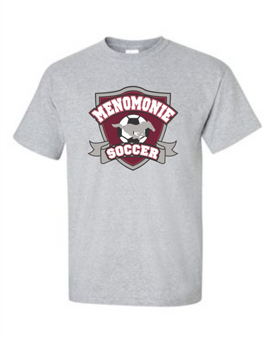 64000 Sports Grey Adult Soft T