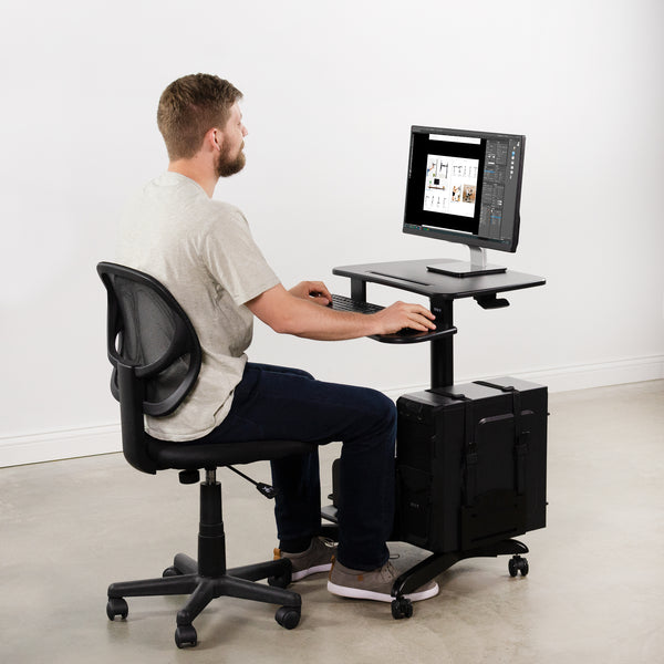3 Reasons Why Home Office Workers Need a Mobile Workstation