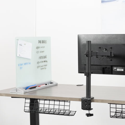 whiteboard mount on desk