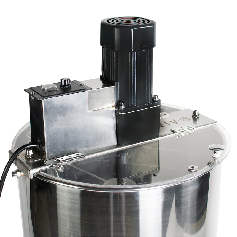 BEE-V002E <br><br>Electric Two Frame Stainless Steel Honey Extractor
