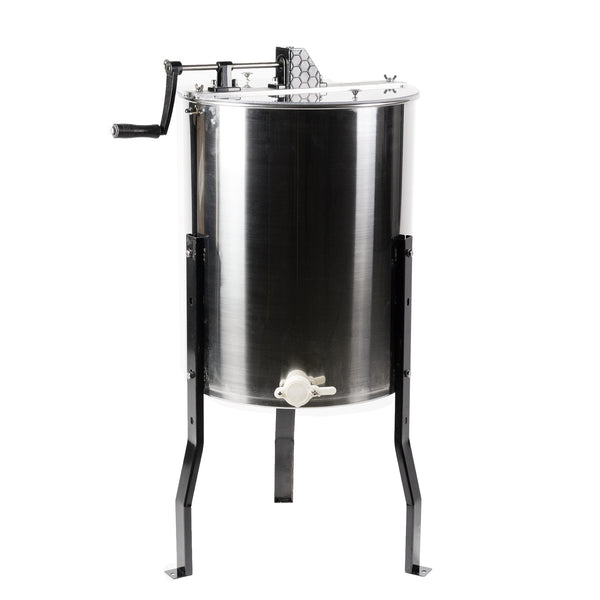 4 to 8 Frame Stainless Steel Honey Extractor