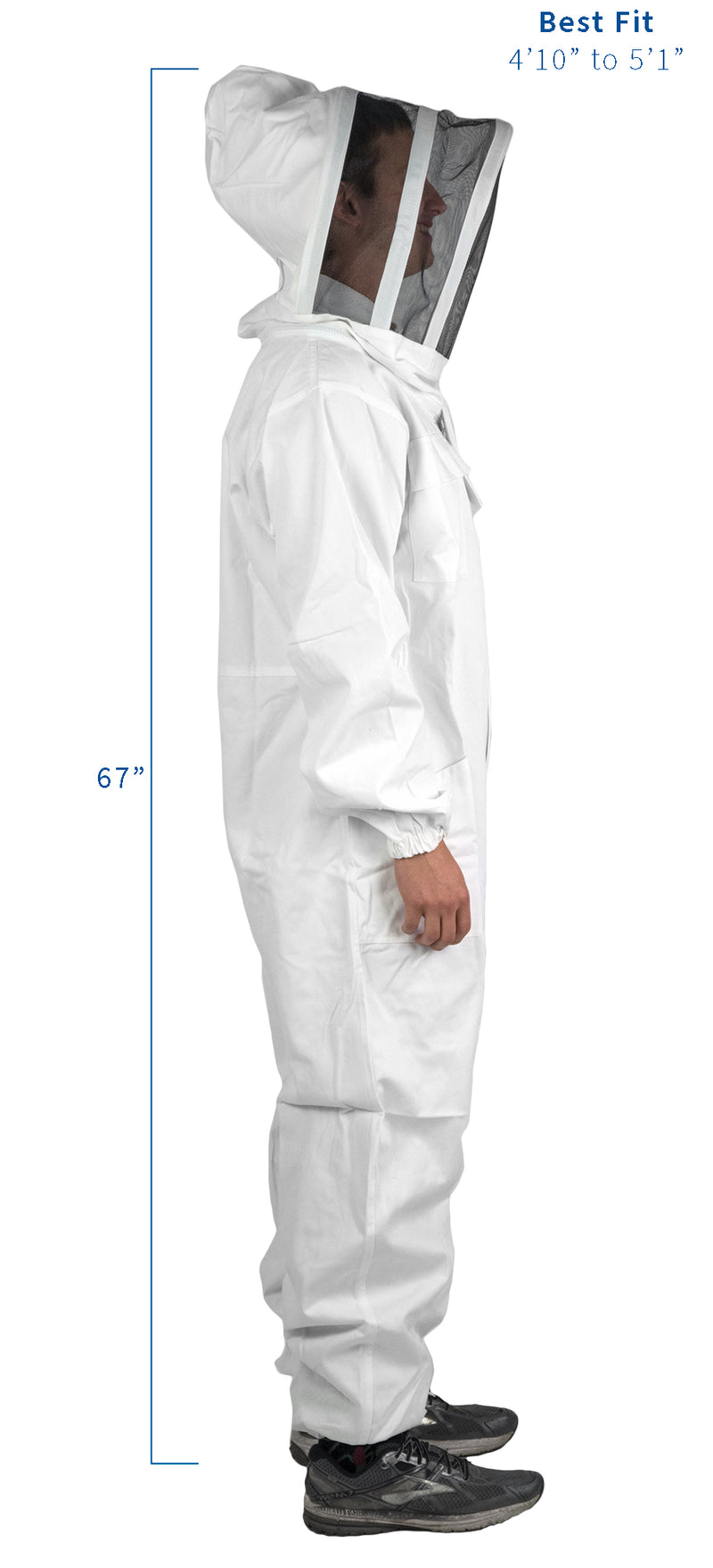 BEE-V106S<br><br>Small Full Body Beekeeping Suit