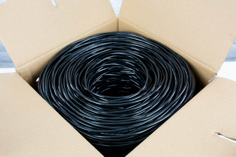 1,000 ft Cat5e Outdoor Ethernet Cable