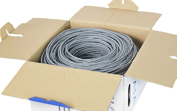 1,000ft Cat6 (PURE COPPER) Ethernet Cable