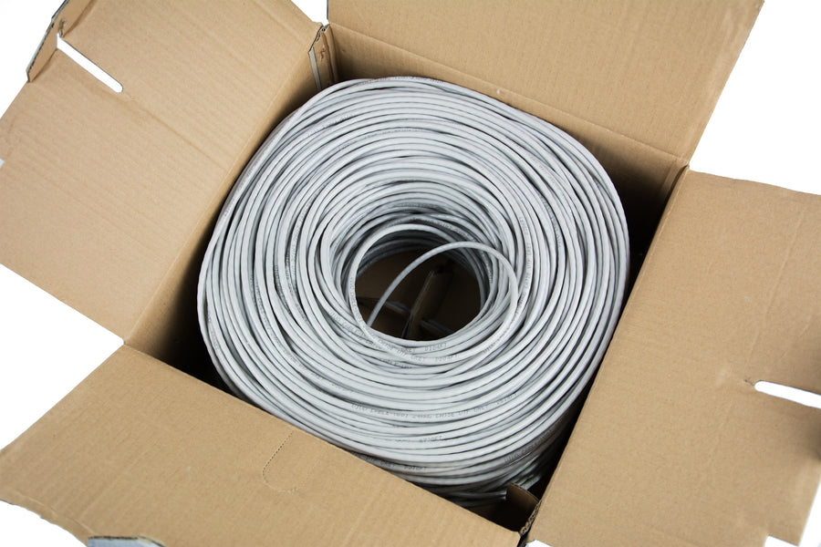 250 ft bulk Cat6 (CCA) Ethernet Cable