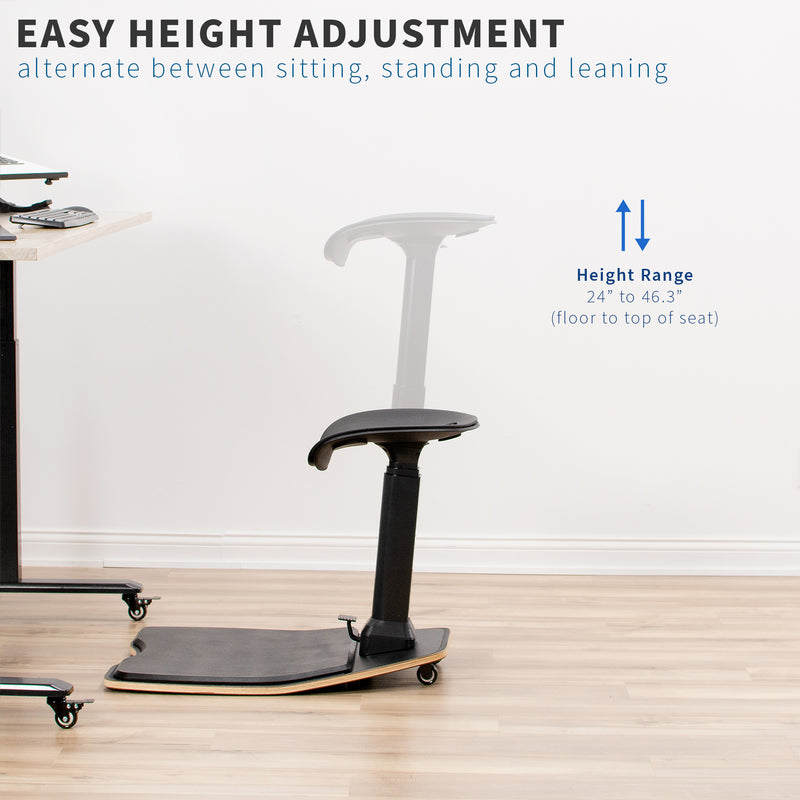CHAIR-S02M<br><br>Posture Chair with Anti-Fatigue Mat