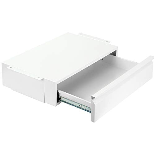 "DESK-AC03W <br><br>White Pull Out 18"" Under Desk Drawer"