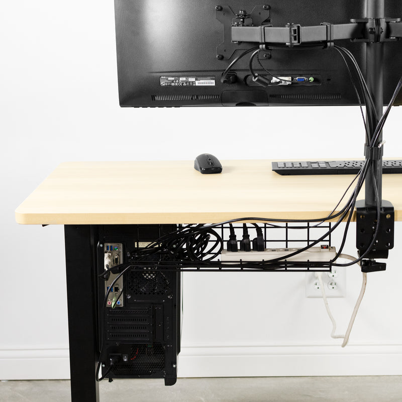 Under Desk Cable Management Racks